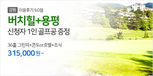 5월 국내투어 버치힐+용평 볼증정